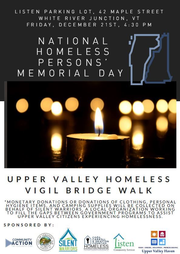 Homeless Vigil Poster