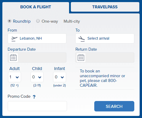 Book a Flight Travel Pass