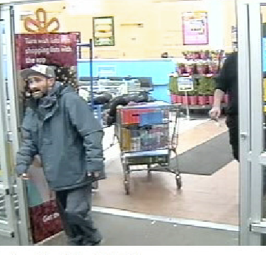 Walmart theft suspect photo