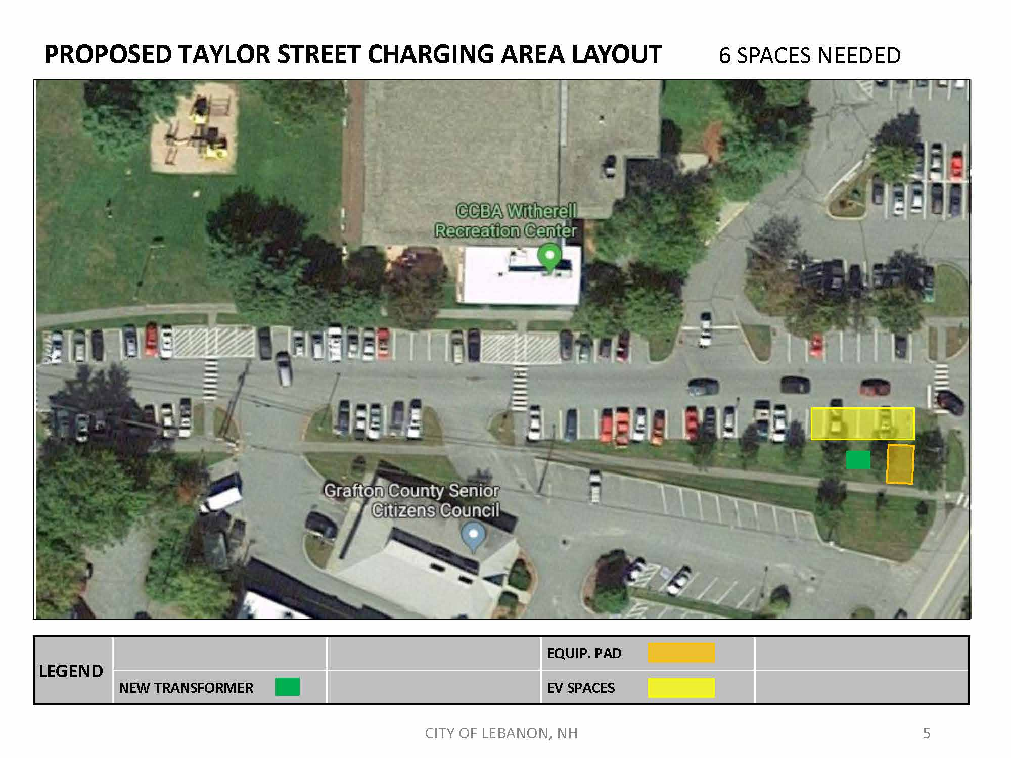 EA Site Layout - Taylor St. East