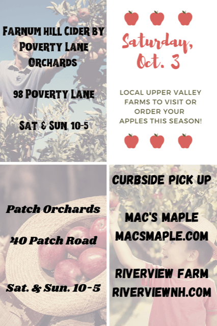 October 3 Apple Picking businesses in the Upper Valley. Opens in new window