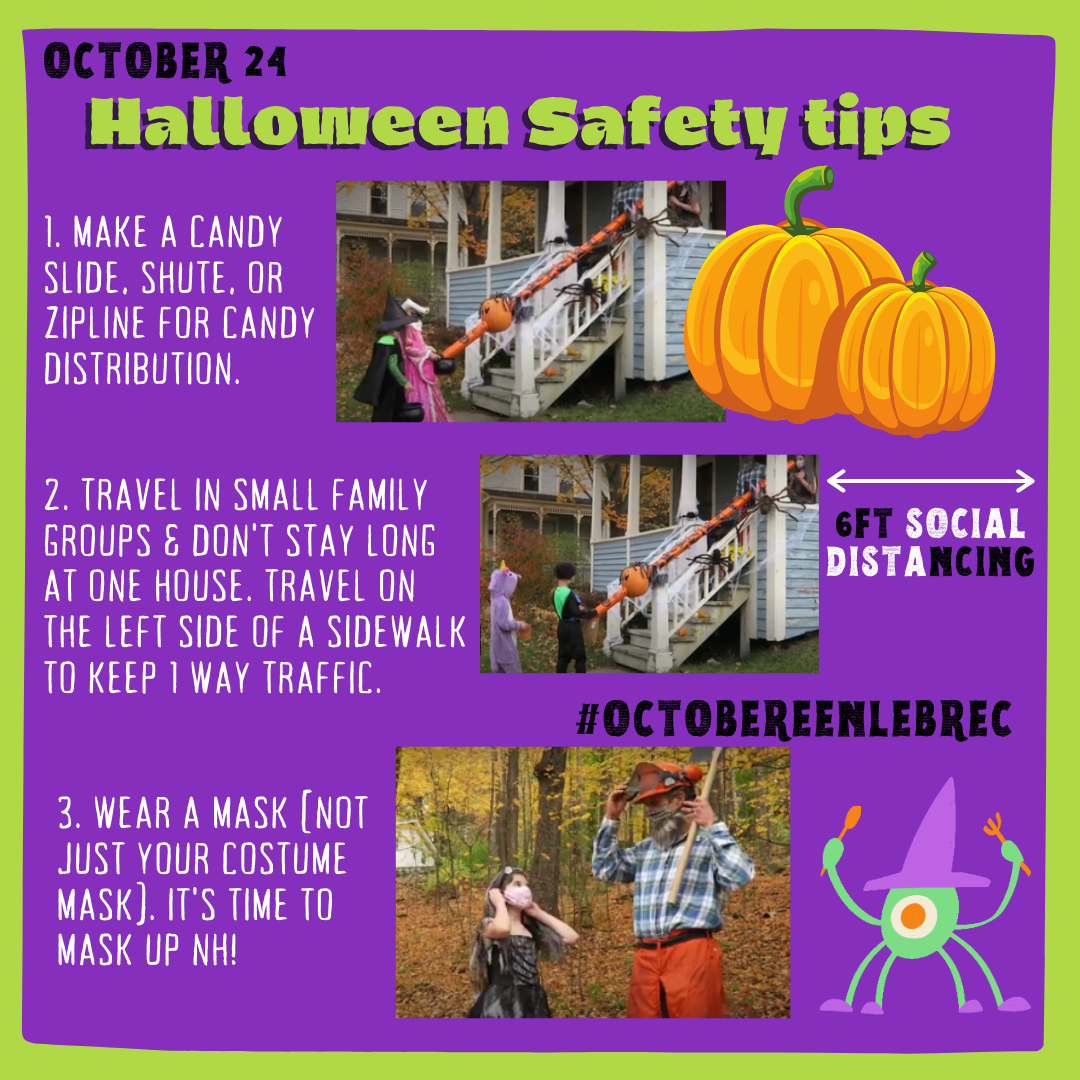 October - 24 Halloween Safety tips  Opens in new window