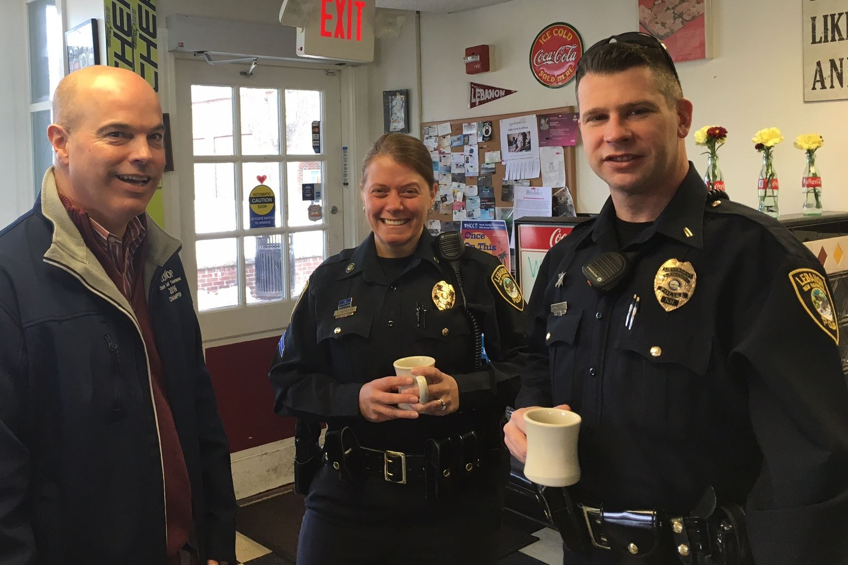 Coffee With A Cop - Lebanon Diner