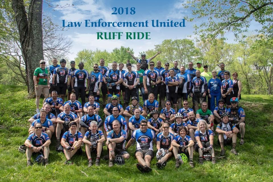 Ruff Ride Bicyclers group shot