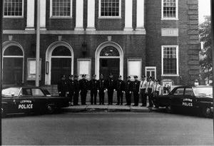 1964 Officers and Cars